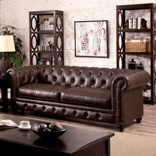 Darby Home Co Farber Button Tufted Comfortable Sofa