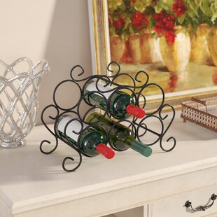 Siebert 7 Bottle Tabletop Wine Rack