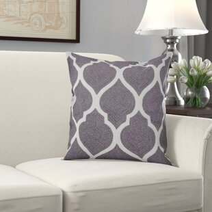 Cotton Cushion Cover By Canora Grey