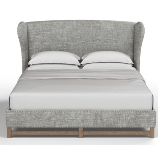 Augustine Upholstered Panel Bed by Canora Grey