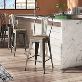 Nala Counter & Bar Stool (Set of 4) by 17 Stories