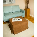 Brown Box Cushion Ottoman Slipcover by Freeport Park®