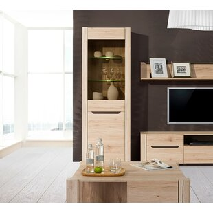 Estrada 1 Door Display Accent Cabinet by Loon Peak
