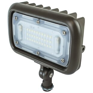 Online Reviews 30W Weatherproof Die Cast Aluminum 1 Light LED Flood Light By Newhouse Lighting