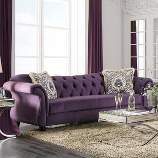 Bourdon Sofa with Button Tufting