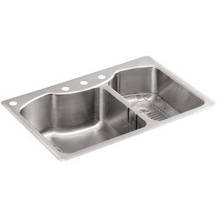 Stainless Steel Kitchen Sinks You\'ll Love   Wayfair