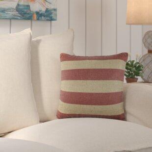 Marlin Burlap Throw Pillow