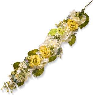Silk flower garlands wayfair spring flowers garland mightylinksfo