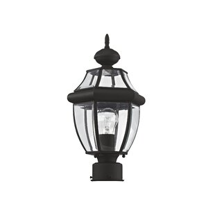 Inexpensive Gustavson Outdoor 1-Light Lantern Head By Three Posts