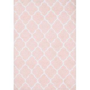 Alaina Hand-Tufted Pink Trellis Area Rug by Birch Lane™ Heritage
