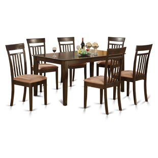 Smyrna 7 Piece Dining Set by Charlton Home New