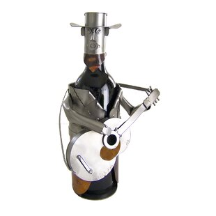 Country Western 1 Bottle Tabletop Wine Ra..