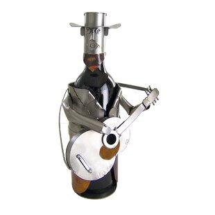 Country Western 1 Bottle Tabletop Wine Ra..