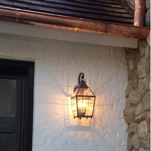 Low priced Parker 2-Light Outdoor Wall Lantern By Canora Grey