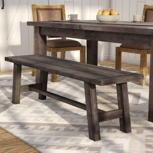 Colborne Wood Bench by Laurel Foundry Mod..