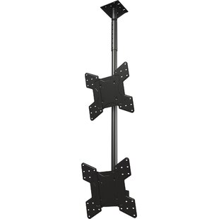 Dual Screen Tilt Ceiling Mount for 32
