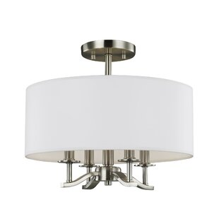 Bueche 4-Light Semi-Flush Mount by Ivy Bronx