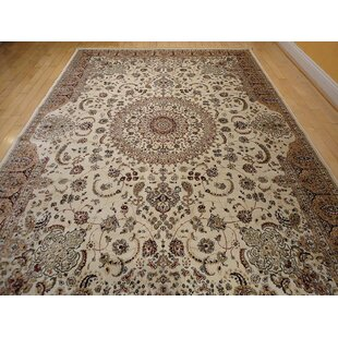 shanelle living room hand knotted silk ivory area rug - Carpet For Living Room