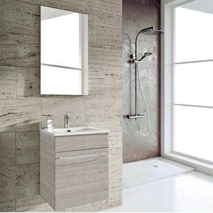 Lavada 16 WallMounted Single Bathroom Vanity Set with Mirror by Orren Ellis