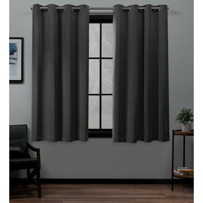Gray And Silver Insulated Curtains Amp Drapes You Ll Love In