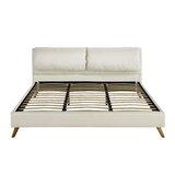 Benge Upholstered Platform Bed by Ebern Designs