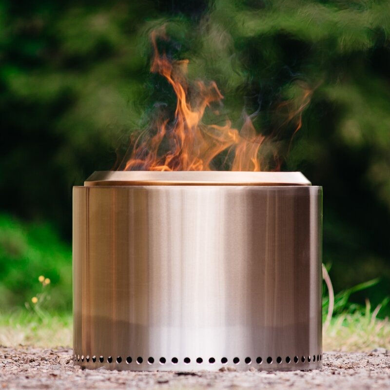 Bonfire Stainless Steel Wood Burning Fire Pit