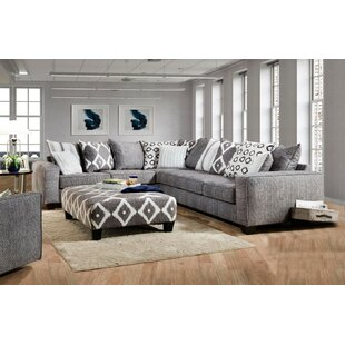Latitude Run Mcmullin Sectional with Ottoman