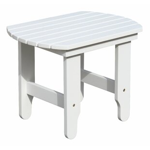 Highland Dunes Browner White End Table