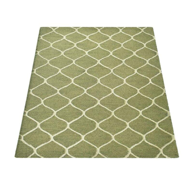Get My Rugs Rugsotic Carpets Hand Tufted Wool Green Area Rug Wayfair