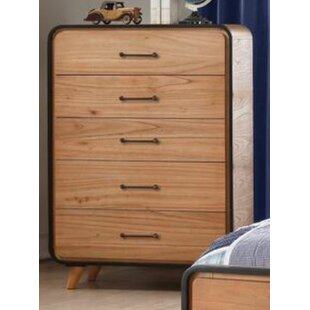 Gipson 5 Drawer Chest by Ivy Bronx