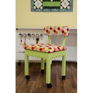 Sewing Underseat Storage Side Chair