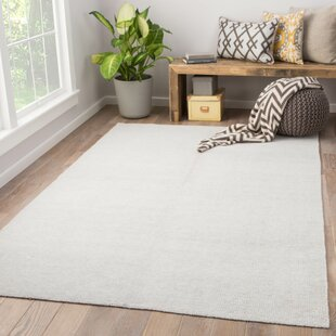 Orleanna Handwoven Flatweave White Indoor/Outdoor Area Rug