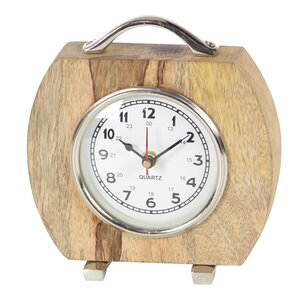 Aluminum Table Clock