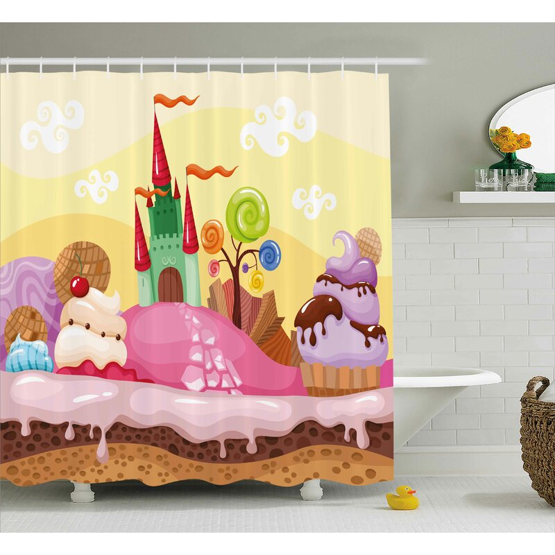 Zoomie Kids Ivy Shower Curtain