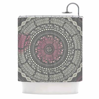 Famenxt Culture Cut Boho Mandala Shower Curtain