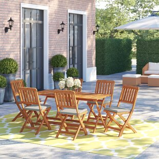 Neve 6 Seater Dining Set By Sol 72 Outdoor