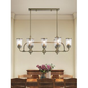 17 Stories Laurenza 8-Light Shaded Chandelier