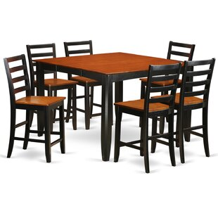 Parfait 7 Piece Counter Height Dining Set..