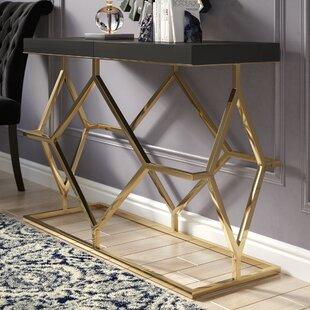 Tathana Rectangle Console Table by Willa Arlo Interiors