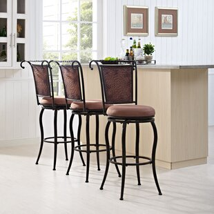 Konner 46.25 Swivel Bar Stool World Menagerie