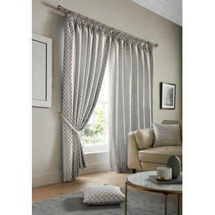ed995bf1c1 Pencil Pleat Curtains You'll Love | Wayfair.co.uk