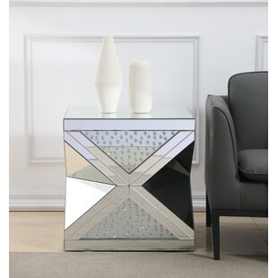 Landen Crystal End Table