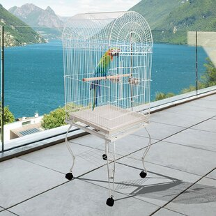 Anissa Mobile Birdcage with Wheel by Archie & Oscar