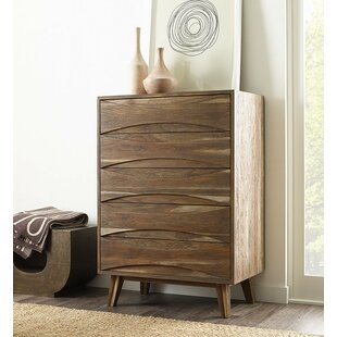 Inexpensive Crawford 5 Drawer Chest by Brownstone Furniture