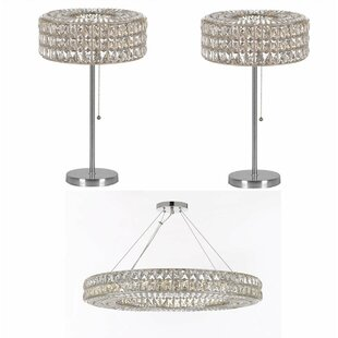 Rothesay 3 Piece Ring Crystal 17-Light Ch..