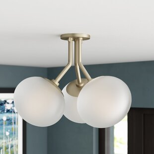 Gideon 3-Light Semi Flush ..