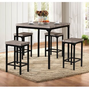 Breen 5 Piece Pub Table Set
