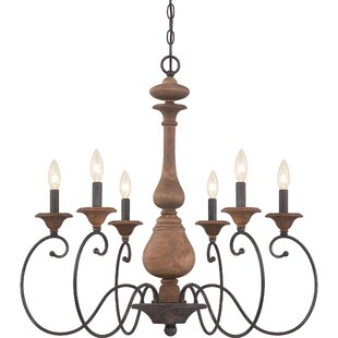 Lark Manor Turcot 6-Light Chandelier