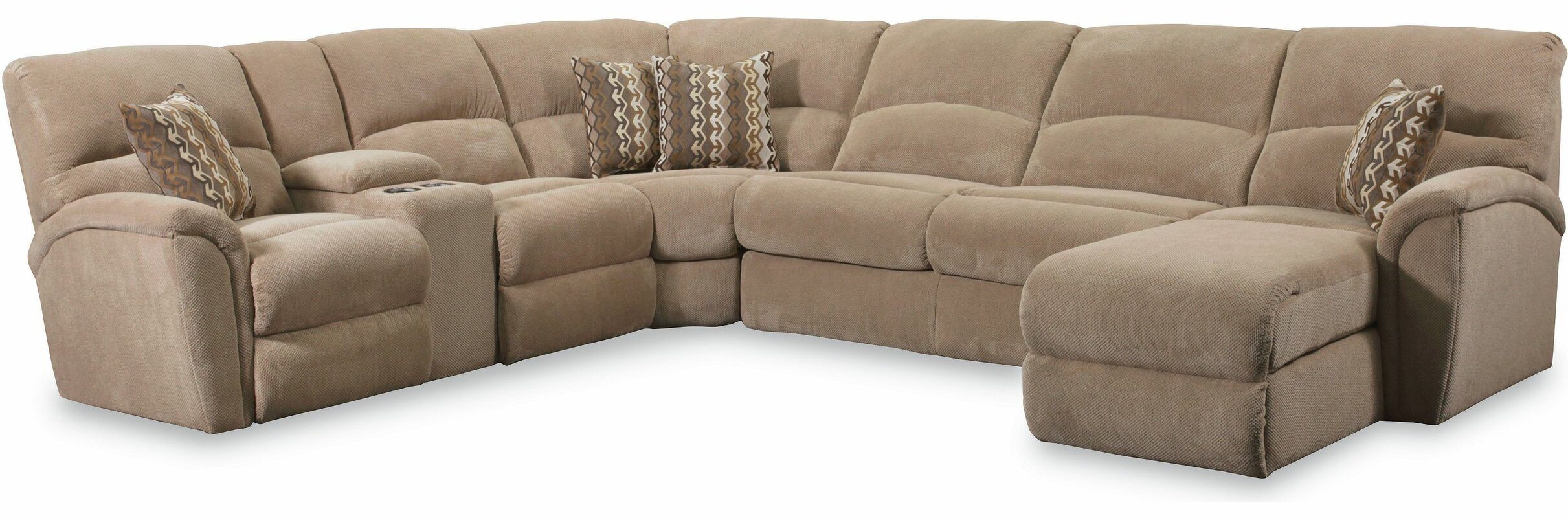 Lane Furniture Grand Torino Reclining Sectional & Reviews