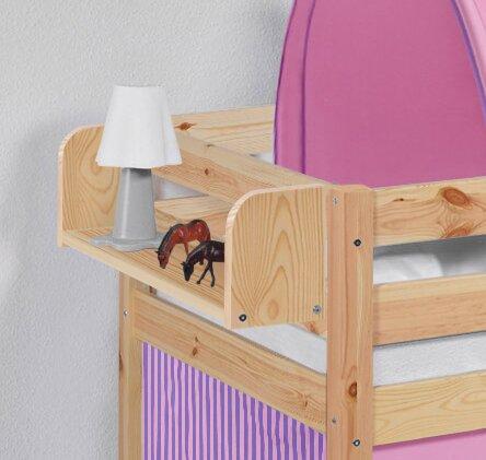 Hängeregal Claycomb | Wohnzimmer > Regale > Hängeregale | Natur | Kiefer - Massivholz | Roomie Kidz